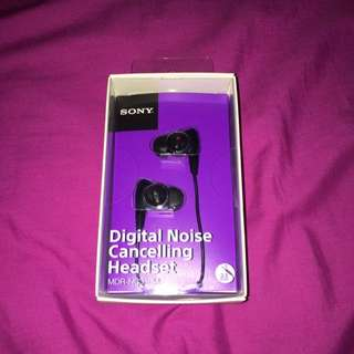 Sony Digital Noise Cancelling Headset