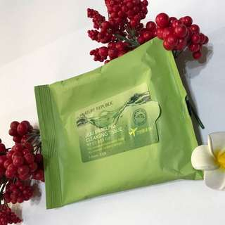 NATURE REPUBLIC JEJU SPARKLING CLEANING TISSUE / FACE TISSUE