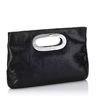MICHAEL KORRS BUCKLEY CLUTCH- BLACK