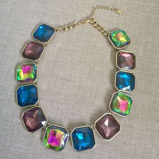Zara Necklace with Colourful Stones