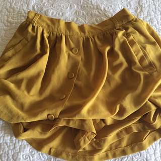 Super Cute Chiffon Skirt - XS