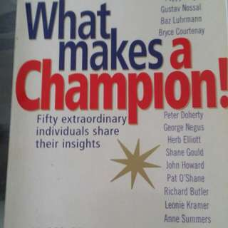 What Makes A Champion