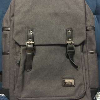 Grey Fashion Backpack Bag