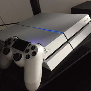 PS4 1st Gen 500gb White
