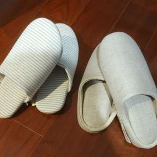 Original MUJI Bedroom Slippers