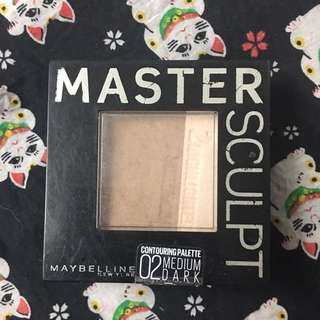 Maybelline Master Sculpt 02 Medium Dark