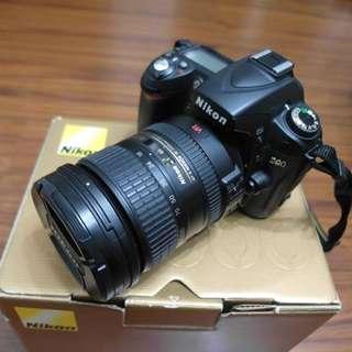 【出售】Nikon D90 數位單眼相機 國祥公司貨 9成新