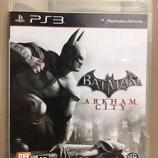 Batman: Arkham City PS3遊戲片(二手)