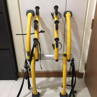 Saris Bones Bicycle Rack (Yellow)