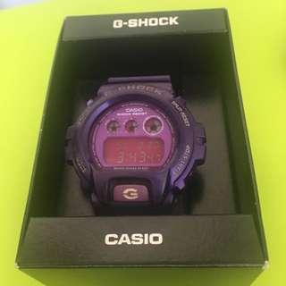 G Shock DW 6900 CC 6DR Watch Crazy Colour Purple 紫色 錶