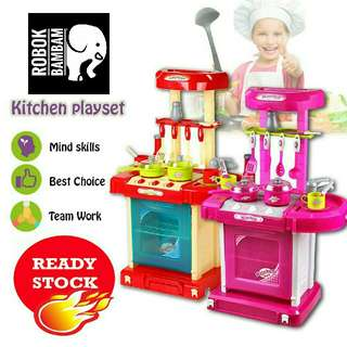 Big Kitchen Fun Playset