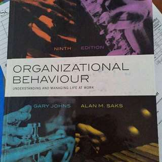 (SMU MPW) Organisational Behaviour