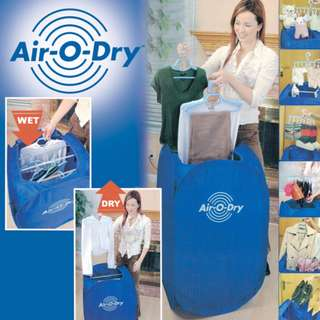 Air O Dryer - Clothes Drying System (Dry clothes within 1 hour!) Pengering Baju Portable