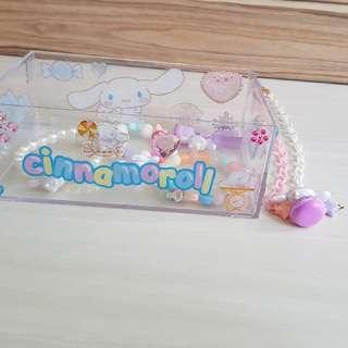 Cinnamoroll Deco Crystal Acrylic Box