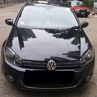 VW GOLF MK6 GT TSi 160hp 09 1字 43000km 黑皮籠天窗 直版少花 已驗車可續1年 牌費到9月