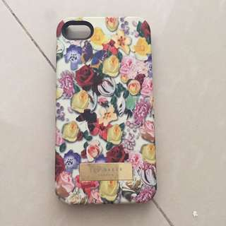 Iphone 4 Mobile Case Casing Ted Baker Flower