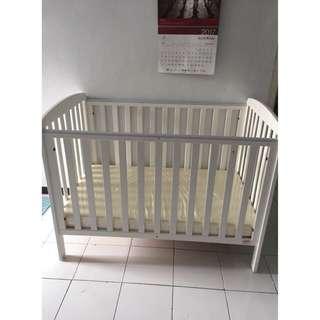 Babybelle Calista BrokenWhite Crib