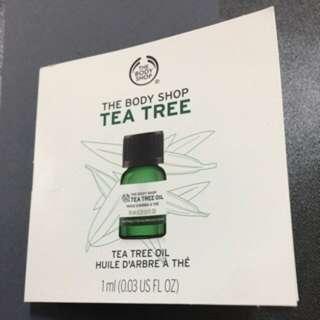 🚚 BODY SHOP 茶樹精油 1ml