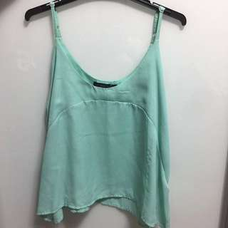 Mint Cami Swing Top