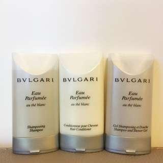 Bvlgari Shampoo and Shower Travel Set 30ml Each