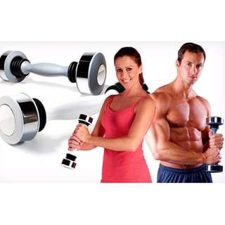 Shake Weight For Men and women dumbbell dumbell tricep bicep 6 minit sehari mudah 1.4kg
