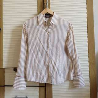 HAMMER Brown Stripe Shirt