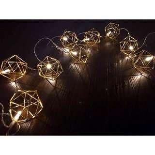 Nordic Design Fairy Lights (Rose Gold)✨