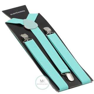 Tiffany Blue Suspender