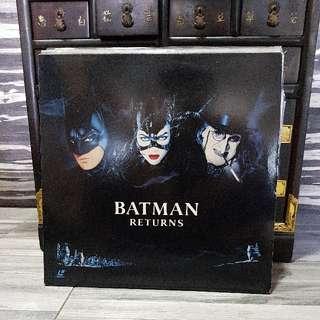 Batman Returns Laser Disc Ld