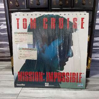 Tom Cruise Mission Impossible Laser Disc Ld