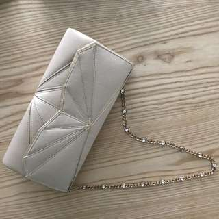 Champagne Clutch by Studio Tangs