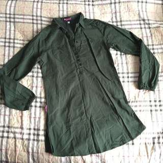 Blouse Lover Army Green