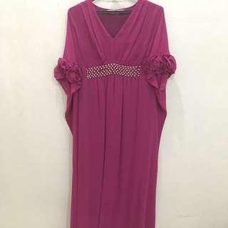 Chiffon Kaftan Dress (long)