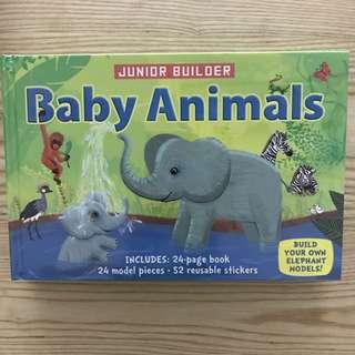 Baby Animals Junior Builder Book