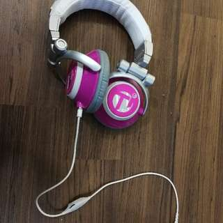 Skullcandy Ti Chick Stereo Headphones Pink