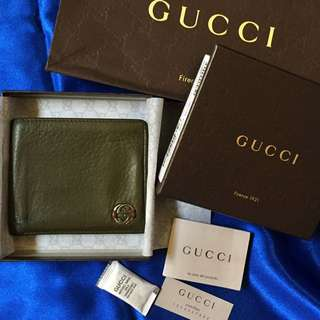 Preloved Authentic Gucci Men Wallet