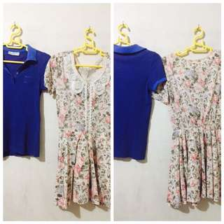 Polo Blouse And Dress