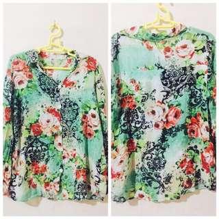 Floral Button Down