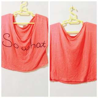 Statement Cropped Top