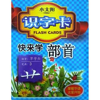 Flash Cards Chinese Radicals & First Words (Chinese)