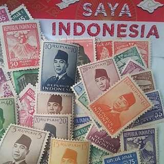 Perangko Indonesia 1945-1965