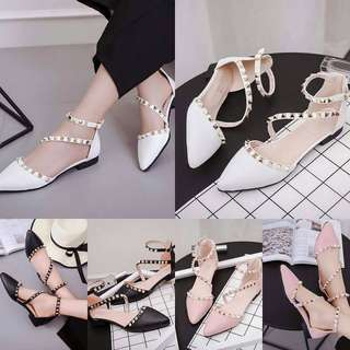 Flat pointed shoes jz081835
