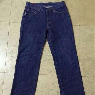 經典 EDWIN 503 低腰直筒牛仔褲 皮標