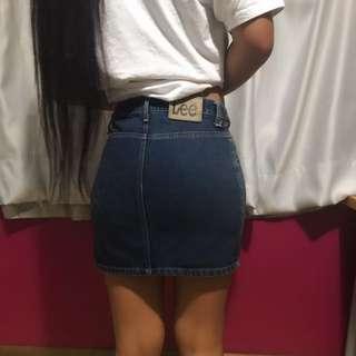 LEE Denim Skirt