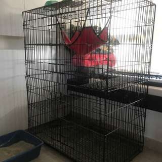 Large Cage For Cats, Dogs Or Birds