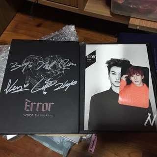Unsealed Error Albums