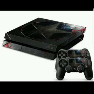 PS4 Decal Sticker Console Controller