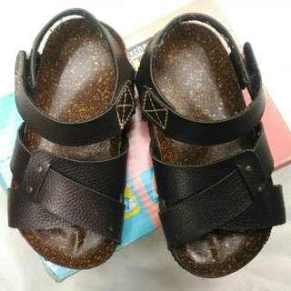Boy's Brown Mandals