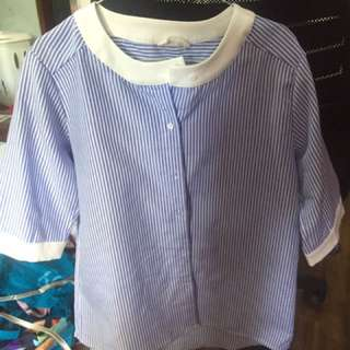 this is april stripes shirt