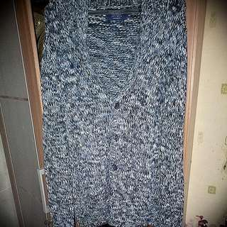 Pull&Bear Sweater Mixed Blue & Grey
